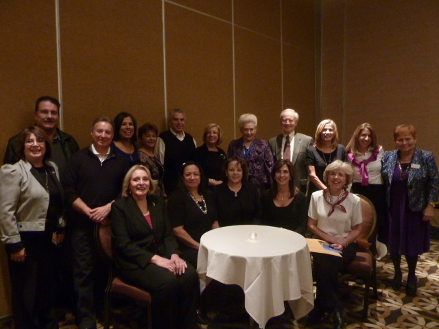 Shirley M. Rader, Dean of the NJ Realtor Institute with the class of 2012.