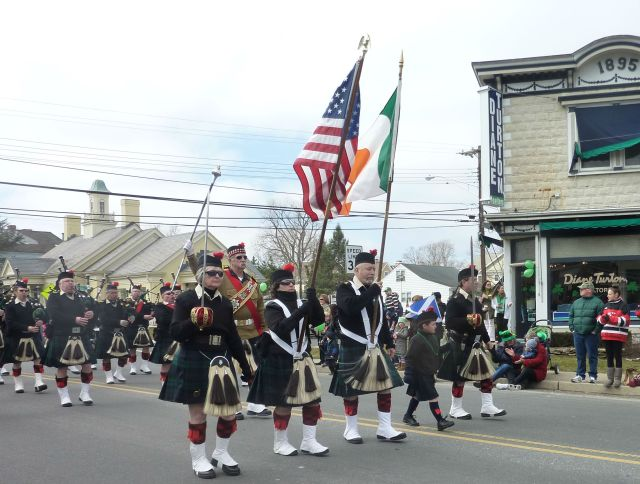 The Atlantic Watch in the 2013 Rumson St. Patrick's Day Parade