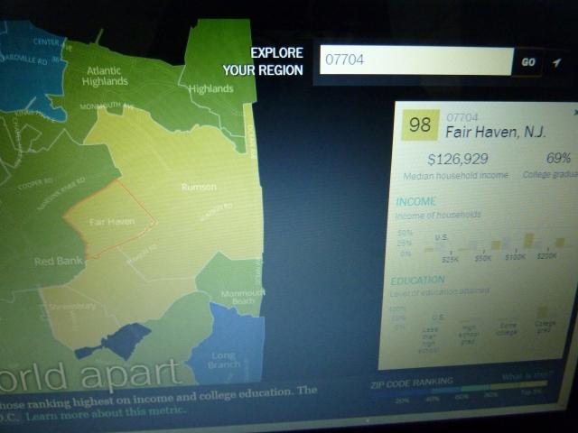Interactive ZIP Code Map