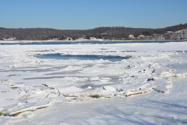 Navesink River from the Oceanic Bridge - Rumson, NJ