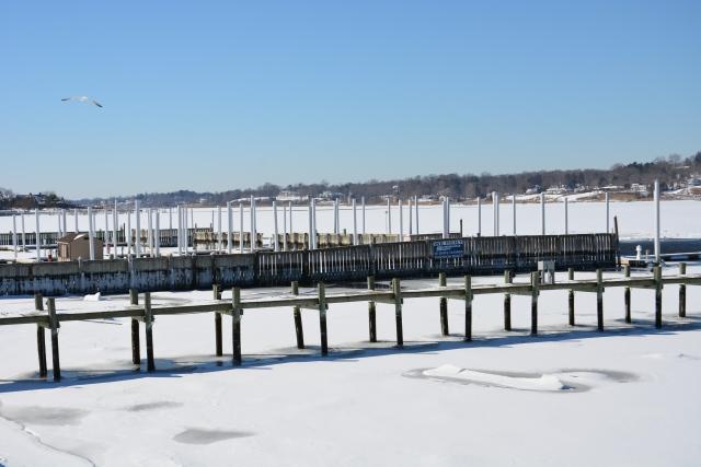 Snow on the Navesink River - Rumson, NJ