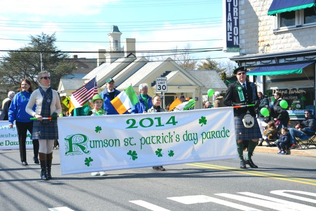 2014 Rumson St. Patrick's Day Parade