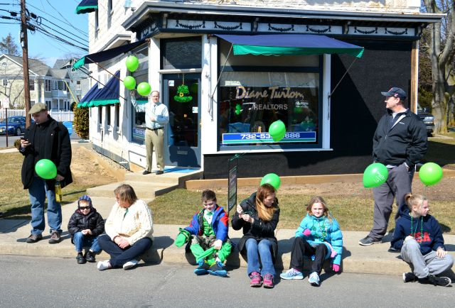 Dale Bisgrove, Manager of Diane Turton's Rumson Office, Handed Out Baloons