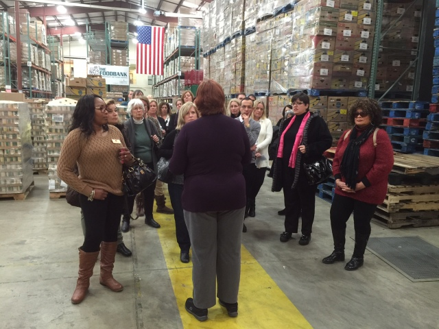 The Foodbank of Monmouth and Ocean Counties warehouse